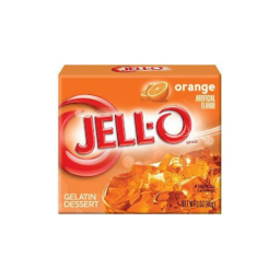 Jello Gelatin Orange Powder 85gr
