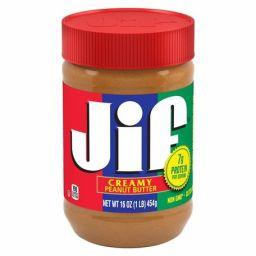 JIF Peanut Butter - Creamy 16oz (454g)