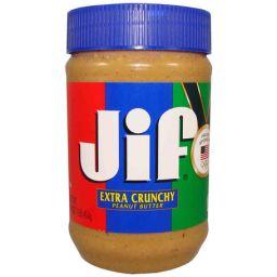 JIF Peanut Butter - Extra Crunchy 16oz (454g)