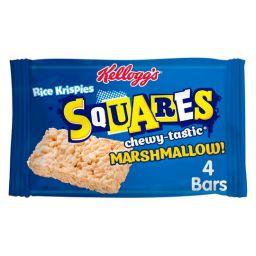 Kellogg's Rice Krispies Squares Marshmallow 4 stuks
