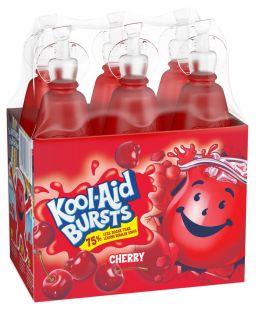 Kool-Aid Bursts Cherry 6 x 6.75oz (200ml)