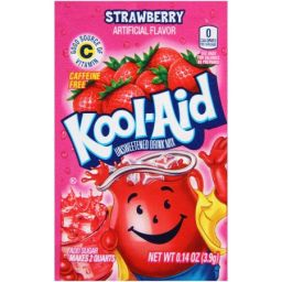 Kool-Aid Strawberry zakje 0.14oz (3.9g)