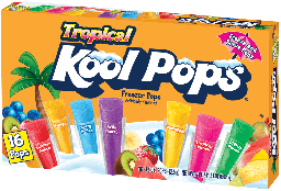 Kool Pops Tropical 20oz (567g)