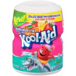 Kool-Aid Powder - Sharkleberry 19oz