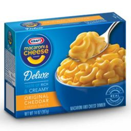 Kraft Macaroni And Cheese Deluxe 397gr