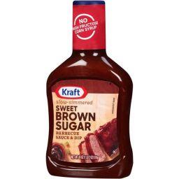 Kraft Sweet Brown Sugar Barbeque  BBQ Sauce 18oz (510g)