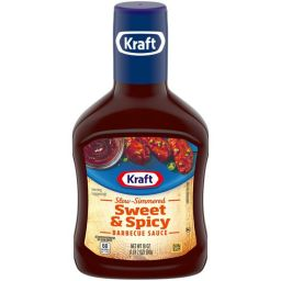 Kraft sweet & spicy Barbecue sauce & dip 18oz (510g)