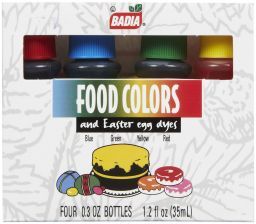 Badia Food Coloring 1.2oz (35ml)
