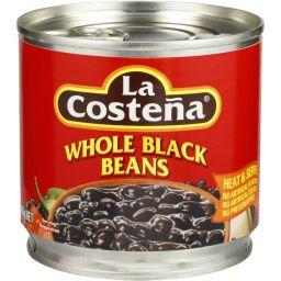 La Costena Whole Black Beans 14.1oz (400g)