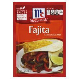 McCormick's Fajita Seasoning Mix 1.12oz (31g)