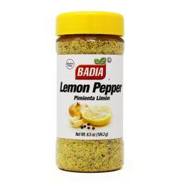 Badia Lemon Pepper 6.5oz (184.3g)