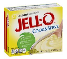 Jello Cook & Serve Pudding Lemon 2.9oz (82g)