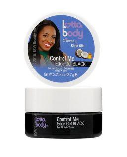 Lottabody Coconut & Shea Oils Control Me Edge Gel Black 2,25oz (63.7g)