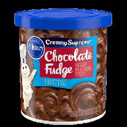 Pillsbury Frosting Creamy Supreme Chocolate Fudge 16oz (453g)