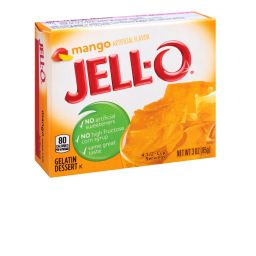 Jello Gelatin Mango Powder 85gr