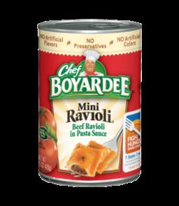 Chef Boyardee Mini Ravioli 15oz (425g)