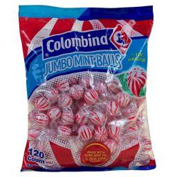 Colombina Jumbo Balls Mint 1.2kg - 120 stuks