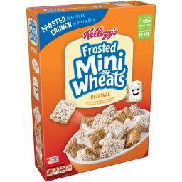 Kellogg's Frosted Mini Wheats 18oz (510g)