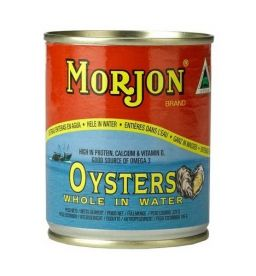 Morjon Oysters in water 225g