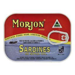 Morjon Sardines in Soya 120g