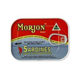 Morjon Sardines With Hot Tabasco 120gr