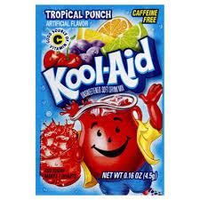 Kool-Aid Tropical Punch zakje 0.14oz (3.9g)