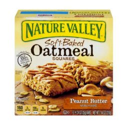 Nature Valley Oatmeal Squares Peanut Butter 7.44oz