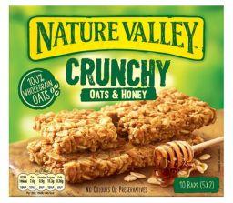 Nature Valley Crunchy Oats & Honey Granola Bars 210g