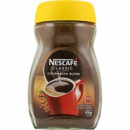 Nescafe Classic Colombian coffee koffie 85gr