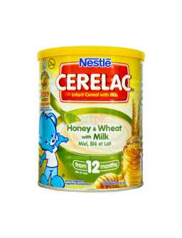 Nestle Cerelac Wheat Honey with Milk 14oz (400g)