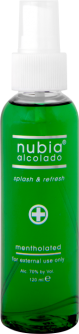 Nubia Alcolado Splash & Refresh 120ml