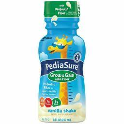 PediaSure Grow & Gain with Fiber Vanilla Shake 8oz (237ml)