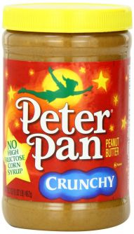 Peter Pan Peanut Butter - Crunchy 16.3oz (462g)