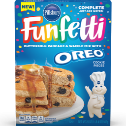 Pillsbury Funfetti Pancake Mix With Oreo 20oz (567g)