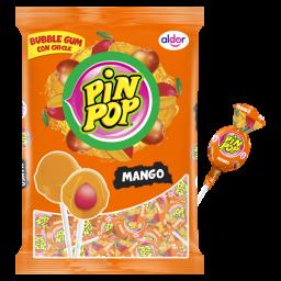 Pin Pop Lolly's Mango 408gr 24stuks