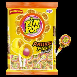 Pin Pop Lolly's Passion Fruit 816gr 48stuks