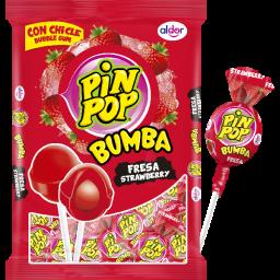 Pin Pop Lolly's Strawberry 408gr