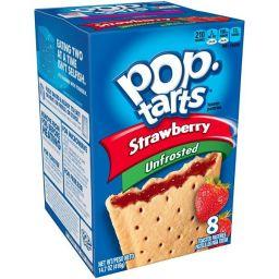 Kellogg's Pop-Tarts Unfrosted Strawberry 384gr