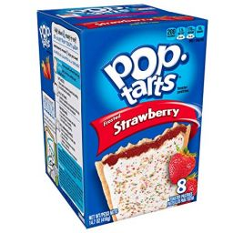 Kellogg's Pop-Tarts Frosted Strawberry 384gr