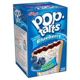 Kellogg's Pop-Tarts Frosted Blueberry 384gr