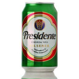 Presidente Cerveza Pilsener 12oz (355ml)