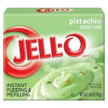 Jello Instant Pudding Pistachio 3.4oz (96g)