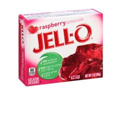Jello Gelatin Raspberry Powder 85gr