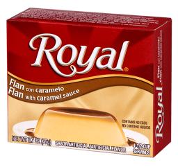 Royal Flan with Caramel Sauce 2.7oz (77g)