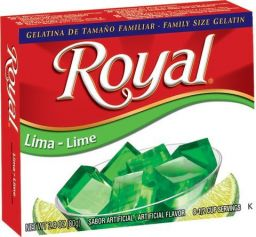 Royal Lime Gelatin 40gr