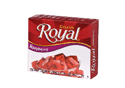 Royal Raspberry Gelatin 1.4oz (40g)