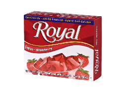 Royal Strawberry Gelatin 1.4oz (40g)