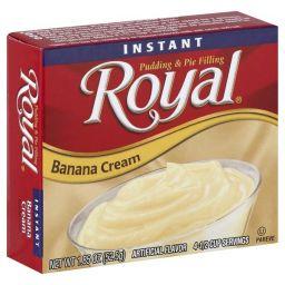 Royal Banana Cream Pudding 52.5gr