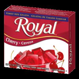Royal Cherry Gelatin 2.82oz (80g)