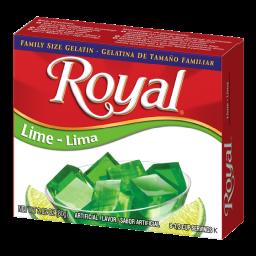Royal Lime Gelatin 2.82oz (80g)